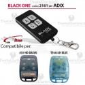 Telecomando compatibile Adix auto apprendente BlackOne