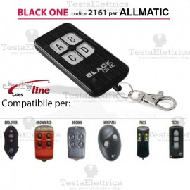 Telecomando compatibile ALLMATIC auto apprendente BlackOne