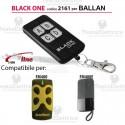Telecomando compatibile Ballan auto apprendente BlackOne