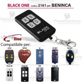 Telecomando compatibile BENINCA auto apprendente BlackOne