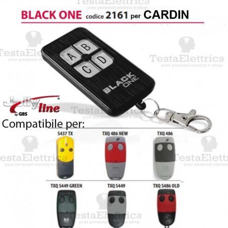 Telecomando compatibile CARDIN auto apprendente BlackOne