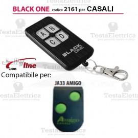 Telecomando compatibile CASALI auto apprendente BlackOne