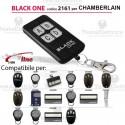 Telecomando compatibile CHAMBERLAIN auto apprendente BlackOne