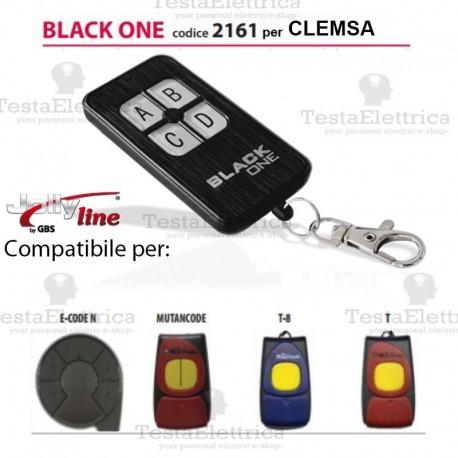 Black One 2161 Radiocomando compatibile CLEMSA Gbs JollyLine