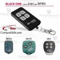 Telecomando compatibile DITEC auto apprendente BlackOne