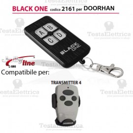Black One 2161 Radiocomando compatibile DOORHAN Gbs JollyLine