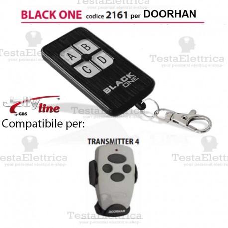 Black One 2161 Radiocomando compatibile DOORHAN Gbs JollyLine