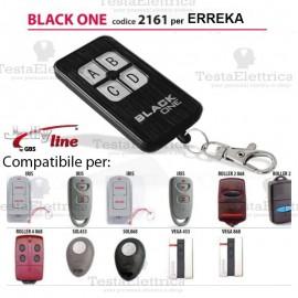 Telecomando compatibile ERREKA auto apprendente BlackOne