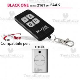 Telecomando compatibile FAAC auto apprendente BlackOne