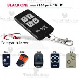 Telecomando compatibile GENIUS auto apprendente BlackOne