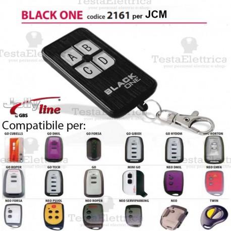 Black One 2161 Radiocomando compatibile JCM Gbs JollyLine
