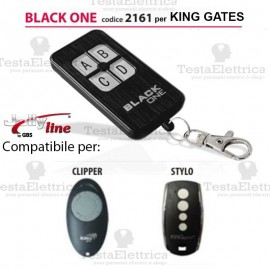 Telecomando compatibile KING KATES auto apprendente BlackOne