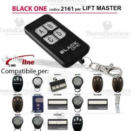 Telecomando compatibile LIFT MASTER auto apprendente BlackOne