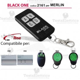 Telecomando compatibile MERLIN auto apprendente BlackOne