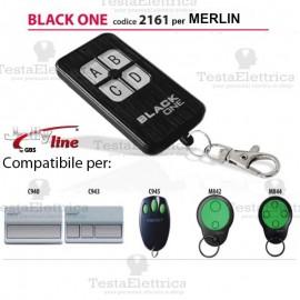 Black One 2161 Radiocomando compatibile MERLIN Gbs JollyLine