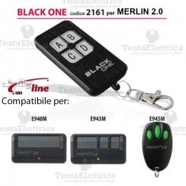 Telecomando compatibile MERLIN 2.0 auto apprendente BlackOne