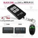 Telecomando compatibile MERLIN 2.0 auto apprendente BlackOne