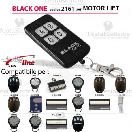 Black One 2161 Radiocomando compatibile MOTOR LIFT Gbs JollyLine