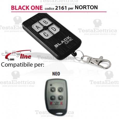 Black One 2161 Radiocomando compatibile NORTON Gbs JollyLine