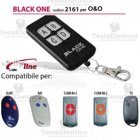 Telecomando compatibile O&O auto apprendente BlackOne