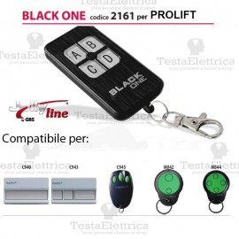 Black One 2161 Radiocomando compatibile PROLIFT Gbs JollyLine
