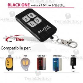 Telecomando compatibile PUJOL auto apprendente BlackOne