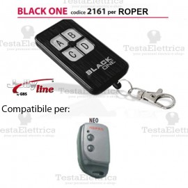 Black One 2161 Radiocomando compatibile ROPER Gbs JollyLine