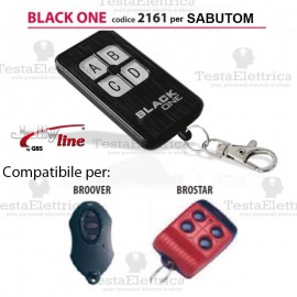 Black One 2161 Radiocomando compatibile SABUTOM Gbs JollyLine