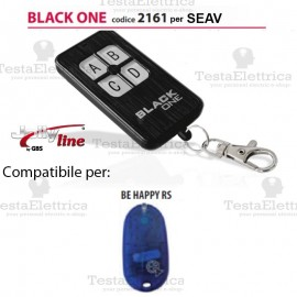 Black One 2161 Radiocomando compatibile SEAV Gbs JollyLine