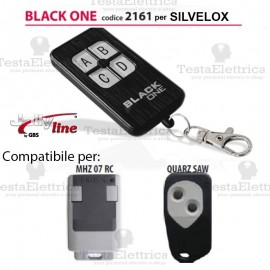 Black One 2161 Radiocomando compatibile SILVELOX Gbs JollyLine