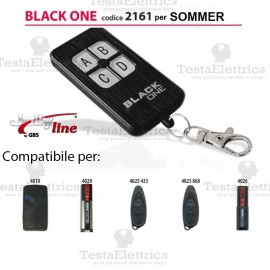 Black One 2161 Radiocomando compatibile SOMMER Gbs JollyLine
