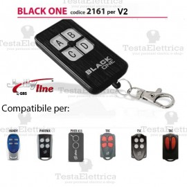 Telecomando compatibile V2 auto apprendente BlackOne