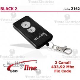 radiocomando universale codice fisso 433,92 black 2 jolly line