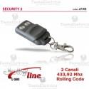 Radiocomando universale auto apprendente rolling code security 2 jolly line