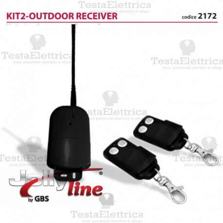 KIT 2 - OUTDOOR RECEIVER jolly line 2172