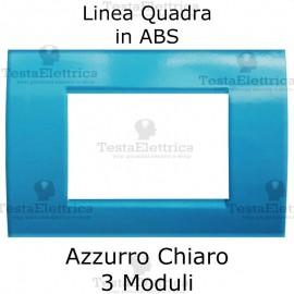 Placchetta Azzurro Chiaro compatibile con serie Bticino Matix