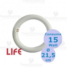 Circolina a LED 15 Watt diam. 21 cm attacco g10q LIFE