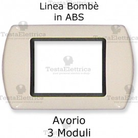 Placchetta Avorio compatibile e adattabile Bticino Living Light