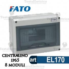 Centralino IP65 8 moduli FATO