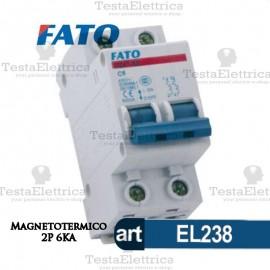 Interruttore magnetotermico 2P C16A  220V FATO