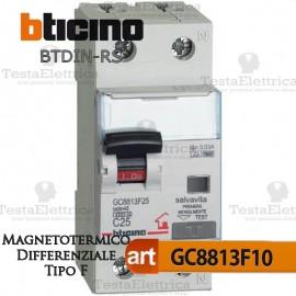 Interruttore Magnetotermico Differenziale tipo F 10A  220V Bticino