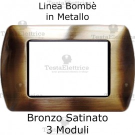 Placchetta compatibile Living Bronzo