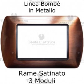 Placchetta compatibile Living Rame