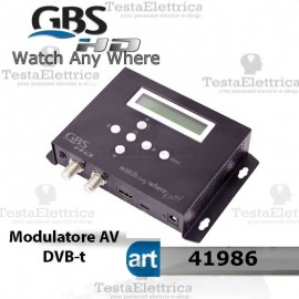 Modulatore AV DVB-T  HD Watch Any Where EASY GBS