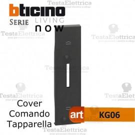 Cover nera per tapparelle bticino living now KG06