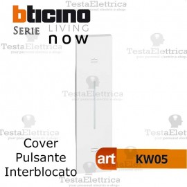 Cover bianca per tapparelle bticino living now KW05