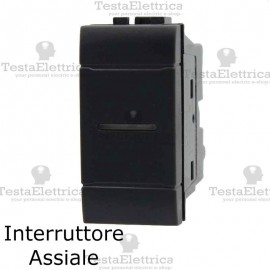 Interruttore assiale compatibile bticino LivingLight