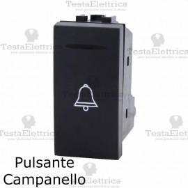Pulsante campanello compatibile con serie Bticino LivingLight