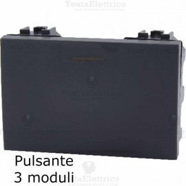 pulsante 3M compatibile bticino LivingLight